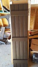 6 sets Musket brown shutters