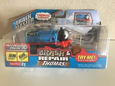 Trackmaster-Crash & Repair THOMAS -battery operated motorized-NIP- Free Shipping