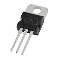 25 Pcs TIP122 100V 5A DIP Power Transistor for General Purpose Amplifier