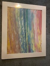 Madani  Original Oil Painting on Canvas Board, Hand Signed 18.5W x 15.25H