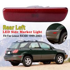 Rear Bumper Side Marker Light Assembly For Lexus RX300 1999-2003 Left Driver