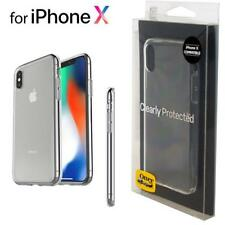 OtterBox Clearly Protected Skin Gel TPU Case for iPhone X XS 10S Clear 77-57456