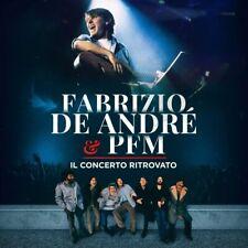 Fabrizio De Andre & Pfm Il Concerto Ritrovato CD