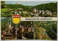 Clervaux 4 Views Postcard (P287)
