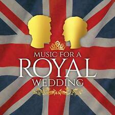 Music for a Royal Wedding 2018 Edition CD (released April 27th 2018)