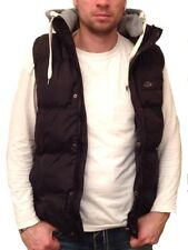Poolman Stepp Weste mit Sweat Kapuze navy camel Vest Jacket Jacke