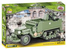Cobi 2499 - Small Army - WWII US M16 Half-Truck Mit Flakvierling - Neu