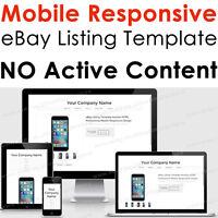 Template Responsive Ebay Listing Html Auction Professional Mobile - Dreamweaver ebay template