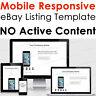 eBay Responsive Listing Template Mobile Friendly Design 2018