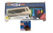 C64 MAXI CONSOLE + 64 PRELOADED CLASSIC GAMES + 2 MICRO SWITCH JOYSTICKS BUNDLE