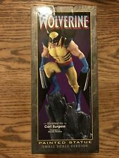 Wolverine Painted Statue Limited Edition Sm Scale #749/3500 Bowen Designs 2000