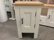 SHABBY PAINTED SMALL CUPBOARD ROUGH SAWN DISTRESSED BESPOKE COLOUR SIZE