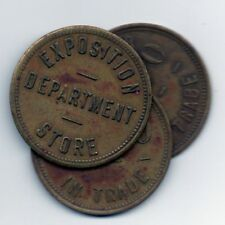 EXPOSITION DEPARTMENT STORE *** $1.00 *** Atlanta, GA *** Cotton