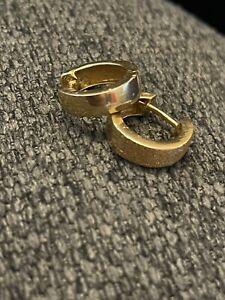 Creolen Ohrringe gold 585