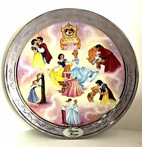 Disney Plate Once Upon A Dream Princess Kisses 2nd Issue Bradford Exchange