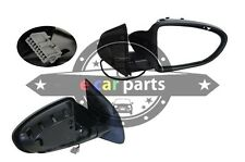 DOOR MIRROR FOR NISSAN DUALIS J10 11/2007-5/2014 RIGHT SIDE BLACK ELECTRIC 5 PIN