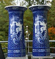 """Chinesisches Keramik Vasen Ensemble gemarkt """" Herrscherszenerie """" !!!"""