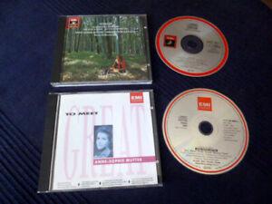 2CDs EMI Anne-Sophie Mutter Vivaldi Four Seasons+Great To Meet Alexis Weisenberg
