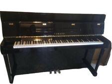 Klavier Yamaha, E-110 N-T E/P schwarz, Hochglanz
