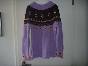 Bogner-Pullover (Strick-Knit-Paneau Tricote), Gr. H 38/US 8, 93 % Schurwolle