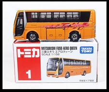 TOMICA #1 MITSUBISHI FUSO AERO QUEEN BUS 1/156 TOMY  DIECAST CAR