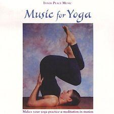 FREE US SHIP. on ANY 2 CDs! ~LikeNew CD Steven Halpern: Music for Yoga