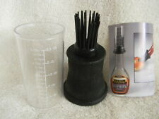 Silicone Bbq Sauce Bottle Top Baster with Measuring Cup Lot Of 2