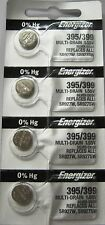 4 PCS 395 Energizer SR927W Watch battery  395/399 SR927SW