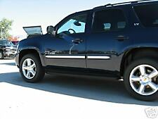 CHROME BODY SIDE MOLDINGS  07-09 CHEVY TAHOE W/FAC MLDS