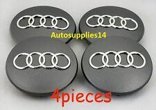 AUDI Wheel Center Caps -- 60 mm