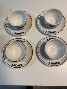 4 Tasses Choky