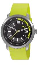 Puma Watch Overdrive Lime PU103291003 Analogue Plastic Yellow
