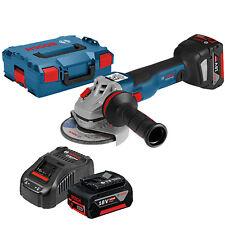 Bosch Akku-winkelschleifer GWS 18v-10c L-boxx Al1880cv 2x 5 0 AH