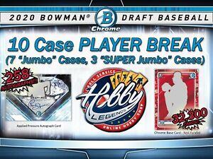 Owen Caissie PADRES 2020 Bowman Draft 10 Case (7Jumbo/3SJ) PLAYER Break