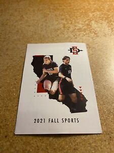 San Diego State University 2021 Fall Sports Pocket Schedule