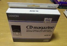 Denon Acd-12 Single Compact Disc Cd Magazine For Multi Changers ~ New!