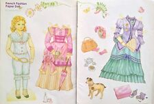 French Fashion Doll 2005 Mag. Paper Doll Uncut, by Karen Reilly