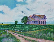 "'Along Highway 12' art print of Payne House (Java SD) - 16x20""on 80lb paper"