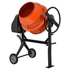 [in.tec] CEMENT MIXER 140 Litre betonmischmaschine Mixer Mortar Mixers
