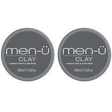 Men-U Clay 100ml x 2