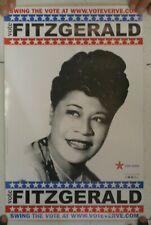 Ella Fitzgerald Poster Vote Jazz