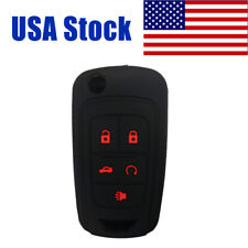 Key Fob Cover Case Keyless Skin for Chevrolet Cruze Malibu Equinox Camaro Sonic