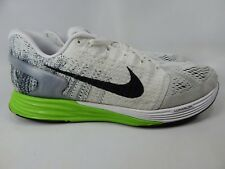 huge selection of f1db6 a65e3 Nike Lunarglide 7 Taille 13 Ans M (D) Ue 47.5 Homme Chaussures Course Blanc