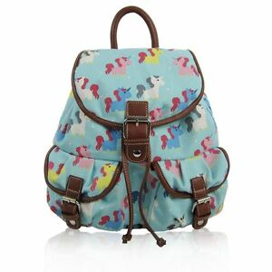 New Printed Canvas Rucksack Patterned Retro Backpack