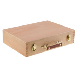 Wooden Painting Sketch Box Portable Sketch Drawing Box Artist Oil Painting