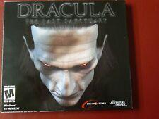Video Juego de PC Dracula el ultimo santuario Nuevo Sellado