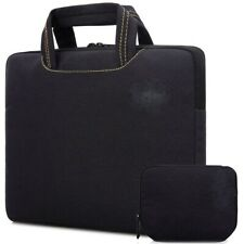 10 - 14 inch laptop tablet bag sleeve case Black Rawboe