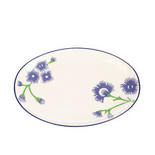 REICHENBACH New Flower Porcelain Oval Plate 35 CM Designed by Paola Navone