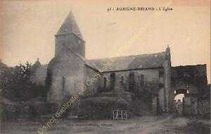 CPA 49540 AUBIGNé BRIAND Eglise Edit GOUBIN FAURE