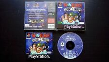 WORMS WORLD PARTY : JEU Sony PLAYSTATION PS1 PS2 (Team 17 COMPLET envoi suivi)
